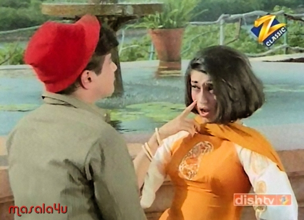 Babita in Aulaad Movie