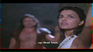 Helen_Brodie_White Saree_Topless_02