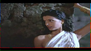 Helen_Brodie_White Saree_Topless_04
