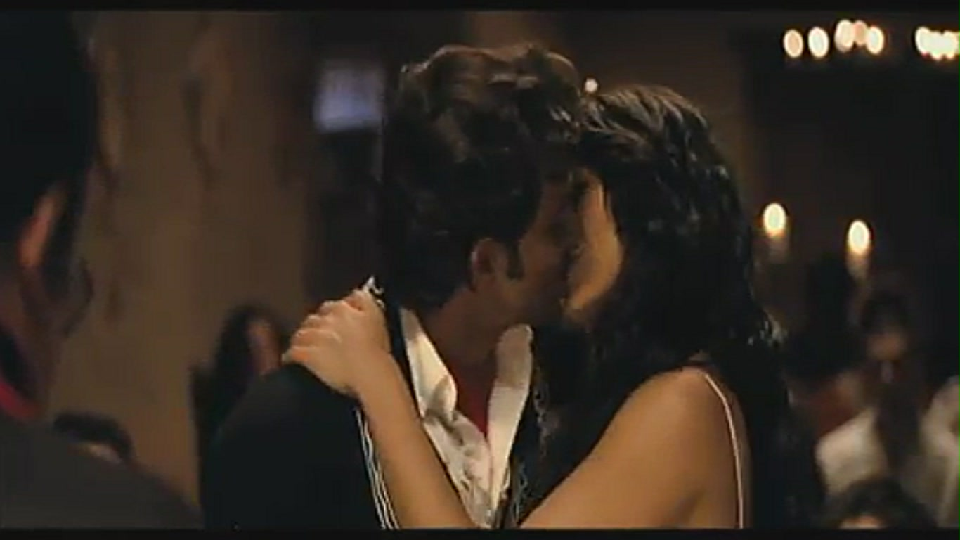 Barbara Mori Hot Kiss
