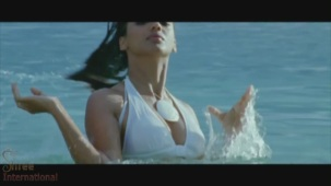 Mugdha Godse Rises from water in the film HELP - YouTube(3)[20-52-40]