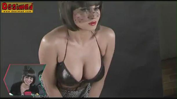 Veena Malik's Get's Dirty in Photoshoot for Supermodel - YouTube[(001803)20-29-31]