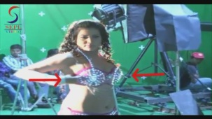 UNCENSORED!! Hot Seema Singh in Two Piece - Mahurat & On Location[20-46-31]