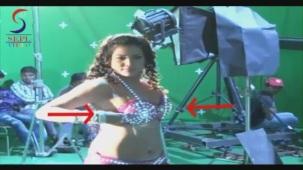 UNCENSORED!! Hot Seema Singh in Two Piece - Mahurat & On Location[20-46-48]