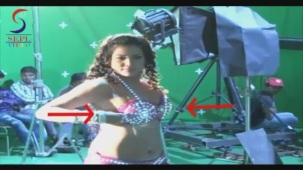 UNCENSORED!! Hot Seema Singh in Two Piece - Mahurat & On Location[20-46-48]