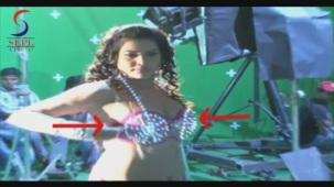 UNCENSORED!! Hot Seema Singh in Two Piece - Mahurat & On Location[20-47-14]