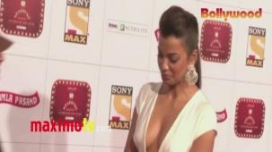 Mugdha Godse _Stardust_ Awards 2013 ARRIVALS Mumbai - Bollywood[20-30-15]