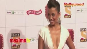 Mugdha Godse _Stardust_ Awards 2013 ARRIVALS Mumbai - Bollywood[20-30-53]