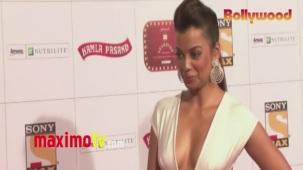 Mugdha Godse _Stardust_ Awards 2013 ARRIVALS Mumbai - Bollywood[20-31-31]