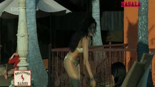 Hot n sexy Sophie in swimsuit - Aa Dekhen Zara - YouTube(3)[21-18-36]